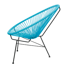 acapulco chair cyan