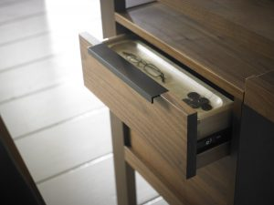 Phase Desk drawer detail