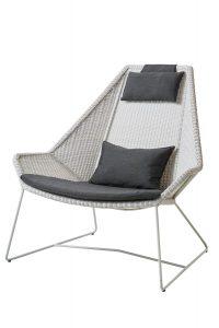 Breeze highback lounge chair