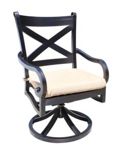 Milano Swivel Dining Chair