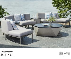 Del Mar Curved Sectional