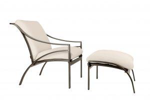 Pasadena cushion lounge and ottoman
