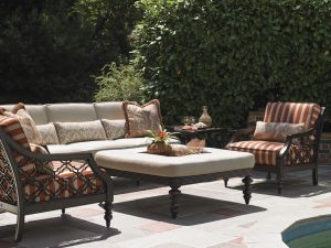 Black Sands Seating with Ottoman