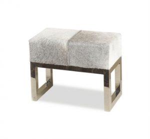 Hide stool