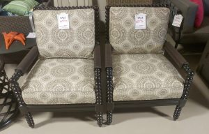 Tommy Bahama Spool Chairs