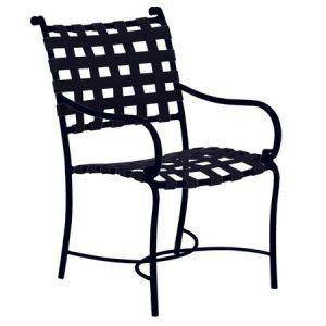 Roma suncloth dining armchair